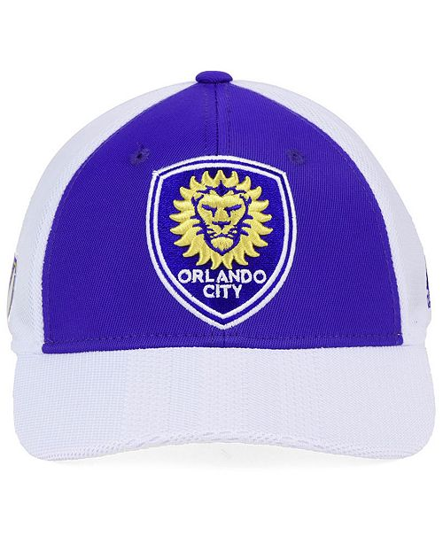 08845261516 adidas Orlando City SC Authentic Mesh Adjustable Cap - Sports Fan Shop By  Lids - Men - Macy s