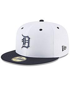 New Era Boys' Detroit Tigers Batting Practice Prolight 59FIFTY FITTED Cap