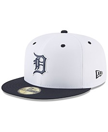 New Era Boys' Detroit Tigers Batting Practice Prolight 59FIFTY FITTED Cap
