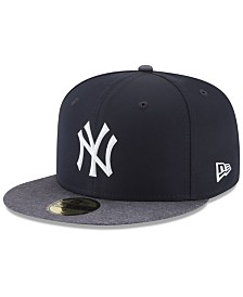 New Era Boys' New York Yankees Batting Practice Prolight 59FIFTY FITTED Cap
