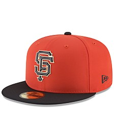 New Era Boys' San Francisco Giants Batting Practice Prolight 59FIFTY FITTED Cap