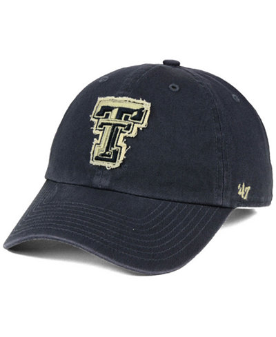 '47 Brand Texas Tech Red Raiders Double Out CLEAN UP Cap