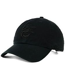 Baltimore Orioles Black on Black CLEAN UP Cap