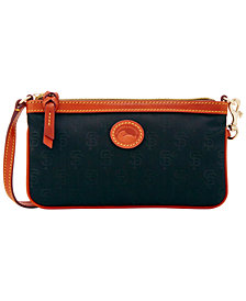 Dooney & Bourke San Francisco Giants Embossed Nylon Large Wristlet