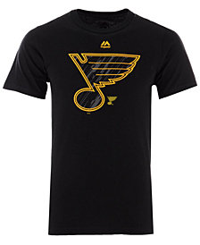 Majestic Men's St. Louis Blues Hash Marks T-Shirt