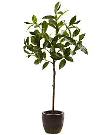 Nearly Natural 29'' Topiary Tree with Decorative Planter