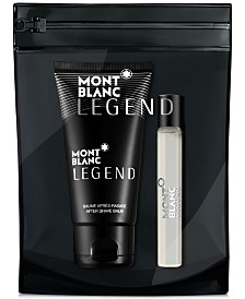 Receive a Complimentary 2-Pc. gift with any large spray purchase from the Montblanc men's fragrance collection