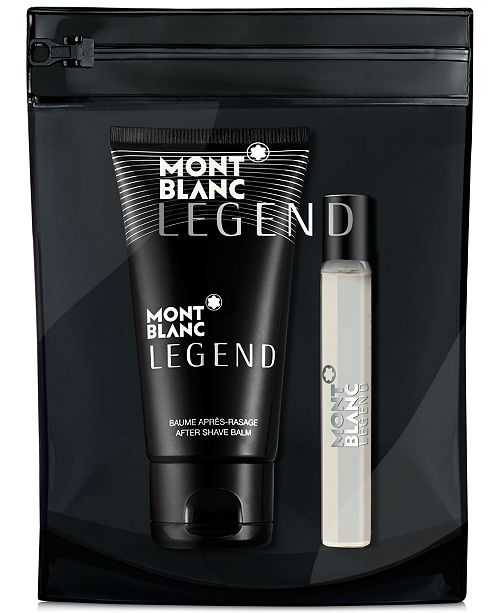 Montblanc Receive a Complimentary 2-Pc. gift with any large spray purchase from the Montblanc men's fragrance collection