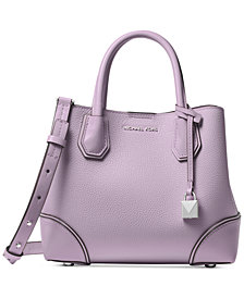 MICHAEL Michael Kors Mercer Small Center-Zip Satchel