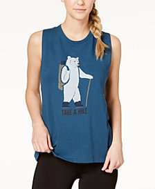 The North Face Graphic-Print Tank Top
