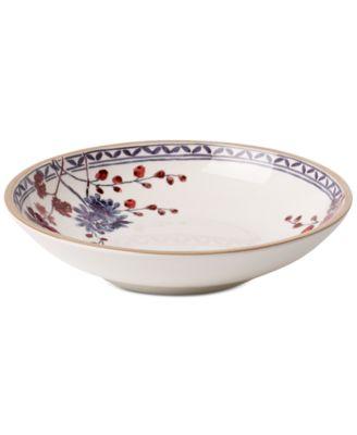 Artesano Provencal Lavender Collection Porcelain Pasta Bowl