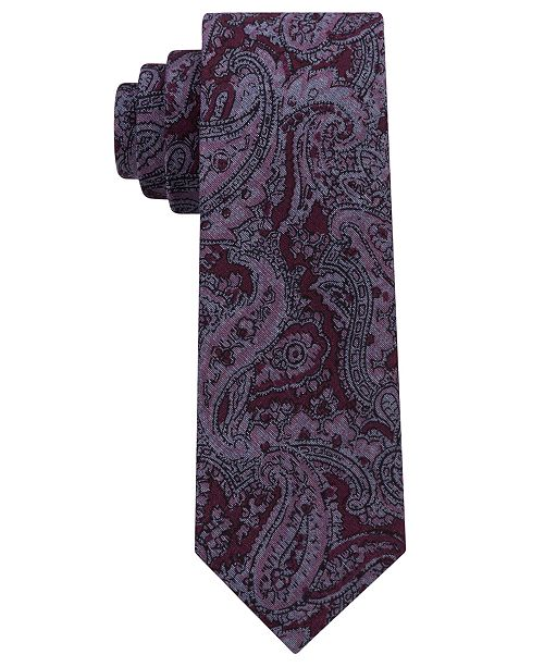 Michael Kors Men's Statement Paisley Slim Tie