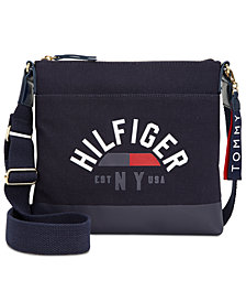 Tommy Hilfiger Carmel Logo Canvas Crossbody