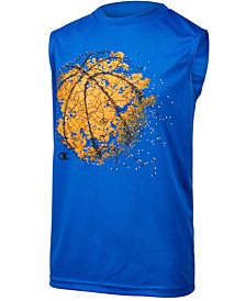 Champion Basketball Constellation-Print Tank, Little Boys