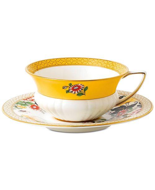 Wedgwood Wonderlust  Primrose Teacup & Saucer