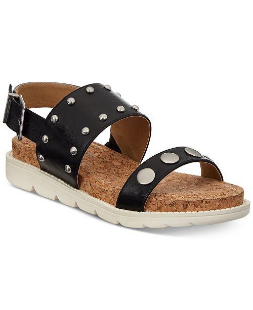 46dd49c5f357 Adrienne Vittadini Perry Flat Sandals   Reviews - Sandals   Flip ...