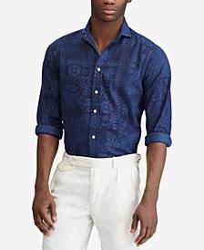 Polo Ralph Lauren Men's Moroccan Print Classic Fit Shirt