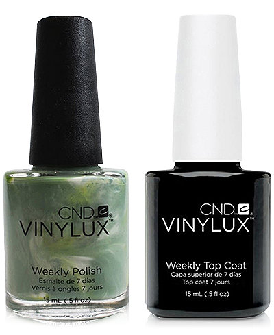 Creative Nail Design Vinylux Sage Scarf Nail Polish & Top Coat (Two Items), 0.5-oz., from PUREBEAUTY Salon & Spa