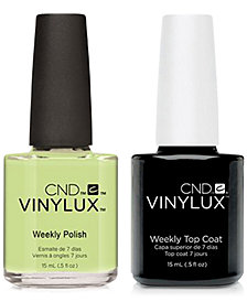 Creative Nail Design Vinylux Sugarcane Nail Polish & Top Coat (Two Items), 0.5-oz., from PUREBEAUTY Salon & Spa