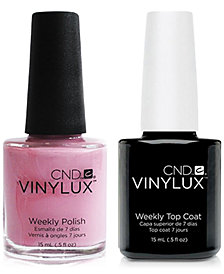 Creative Nail Design Vinylux Mauve Maverick Nail Polish & Top Coat (Two Items), 0.5-oz., from PUREBEAUTY Salon & Spa