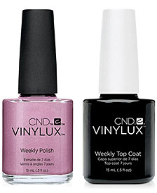 Creative Nail Design Vinylux Tundra Nail Polish & Top Coat (Two Items), 0.5-oz., from PUREBEAUTY Salon & Spa