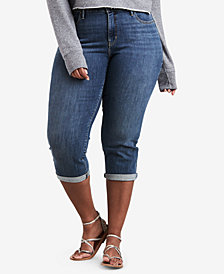 Levi's® Plus Size Shaping Capri Jeans