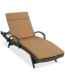 St. Paul Outdoor Chaise Lounge, Quick Ship