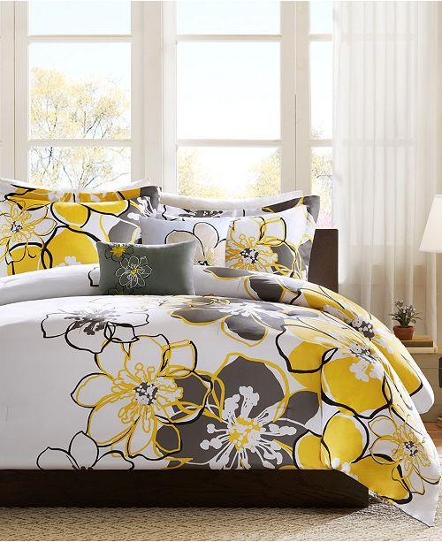 Mi Zone Allison 4-Pc. Bedding Sets