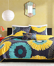 Mi Zone Alice 4-Pc. Full/Queen Coverlet Set