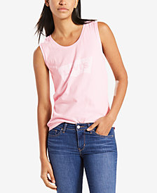 Levi's® Cotton Graphic Muscle Tank Top