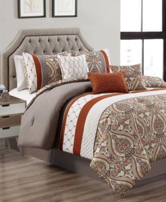 Cedarcoast 7-Pc. Full Comforter Set