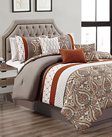 Cedarcoast 7-Pc. Queen Comforter Set