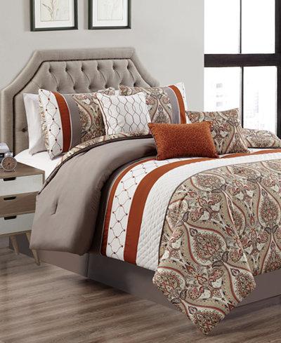 Cedarcoast 7-Pc. King Comforter Set