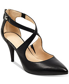 Marc Fisher Kalayne Cross-Band Pumps