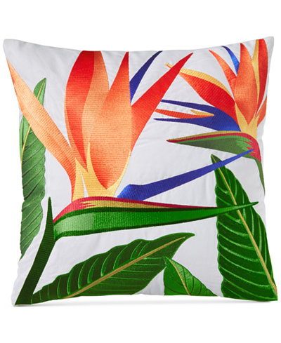 Charter Club Damask Designs Birds of Paradise Embroidered 18