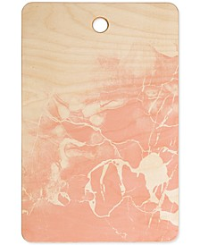 Emanuela Carratoni Pink Marble Cutting Board
