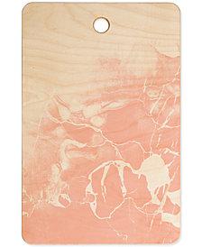 Deny Designs Emanuela Carratoni Pink Marble Cutting Board