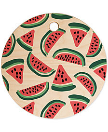 Deny Designs Zoe Wodarz Watermelon Wander Cutting Board