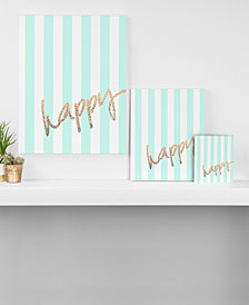 Deny Designs Monika Strigel Pretty Happy Mint Canvas Collection