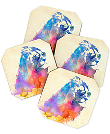 Deny Designs Robert Farkas Sunny Leo Coaster Set
