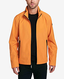 DKNY Hooded Rain Slicker