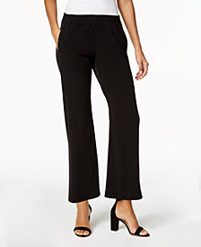 MICHAEL Michael Kors Petite Pull-On Wide-Leg Pants