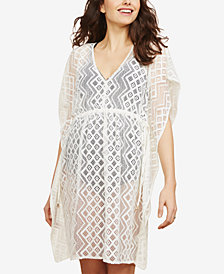 Jessica Simpson Maternity Lace Swim Cover-Up