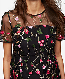 A Pea In The Pod Maternity Embroidered Dress