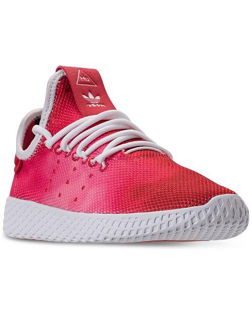 Big Boys  Originals Pharrell Williams Tennis HU Casual Sneakers from Finish  Line 3bf7b8b1afb
