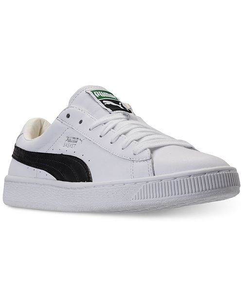 16b1817773d705 Puma Men s Basket Classic LFS Casual Sneakers from Finish Line ...