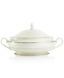 Lenox Pearl Innocence Covered Vegetable Bowl