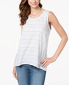 Style & Co High-Low Top, Created for Macy's