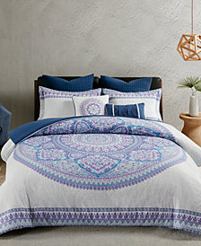 Urban Habitat Coletta Cotton 7-Pc. Full/Queen Duvet Cover Set