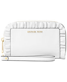 MICHAEL Michael Kors Large Flat Multi Function Phone Wallet